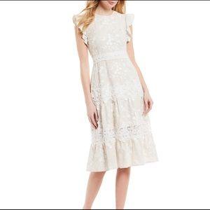 Antonio Melani Janet Tiered Ruffle Midi Dress